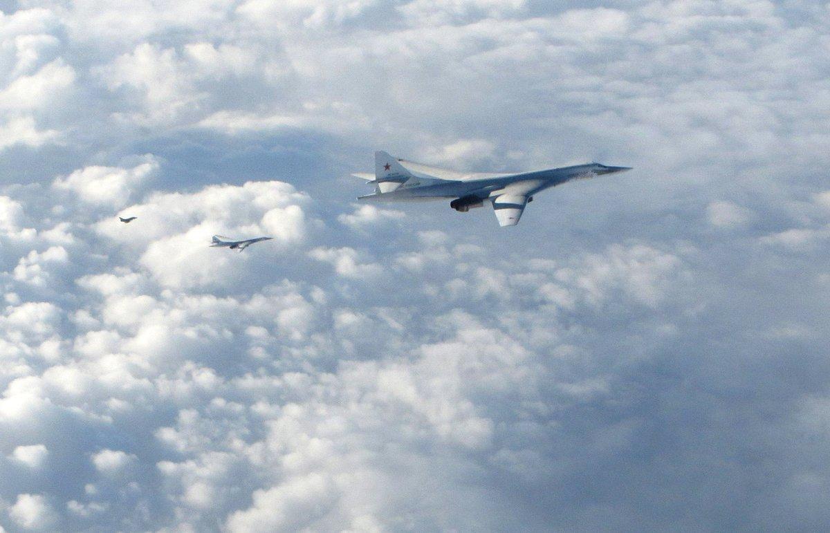 Reino Unido envía cazas Typhoon para interceptar aviones rusos