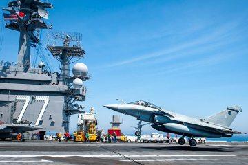 Las armadas de EE. UU. y Francia realizan histórico ejercicio combinado Chesapeake 2018