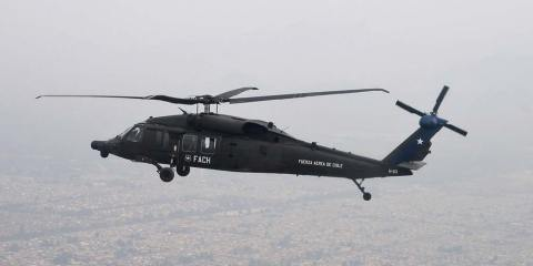 MH-60M Black Hawk Fuerza Aerea del Chile