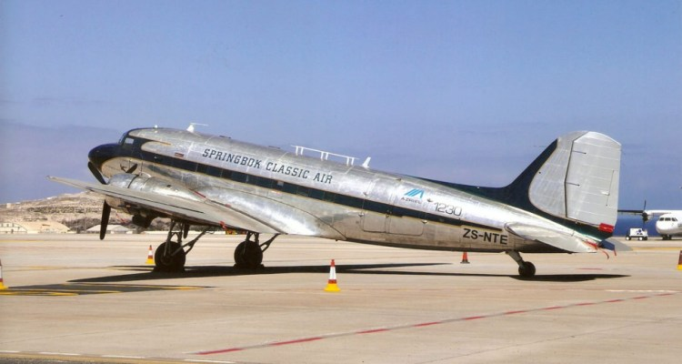 Douglas DC-3/C-47 Springbok Classic Air