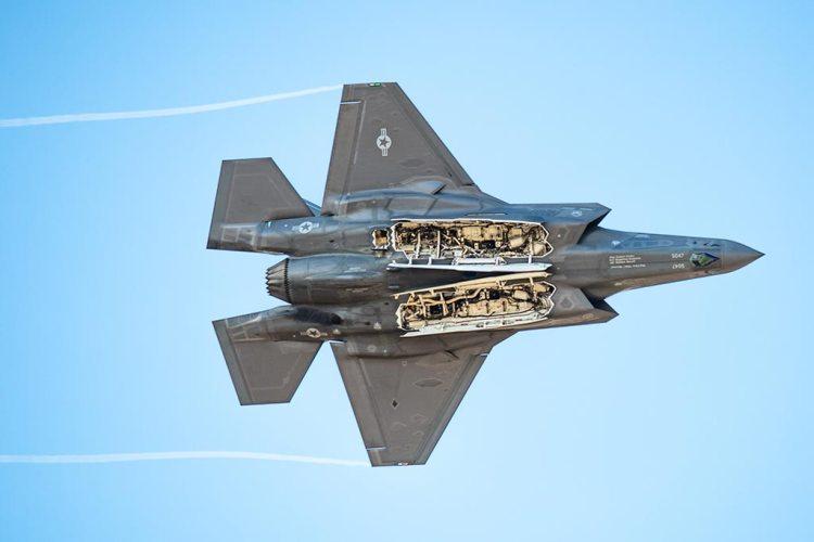 US F-35A Demo Team