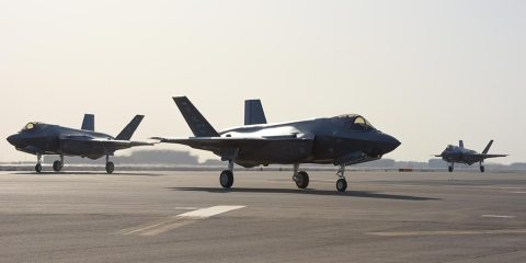 US F-35A primer despliegue en Medio Oriente