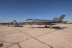 El LOCKHEED F-35A se estrenó en el TLP de Albacete
