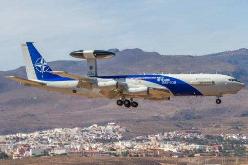 E3 SENTRY AWACS OTAN