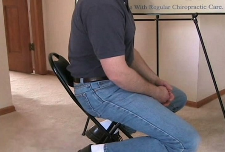 daños sentarse postura incorrecta