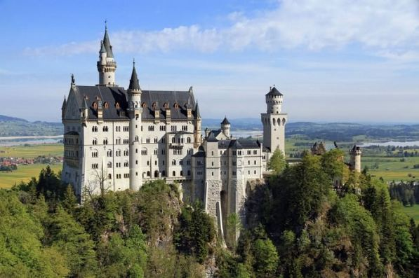 Castillos Medievales Castillo de Neuschwanstein, Alemania