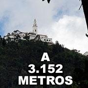 A 3152 metros