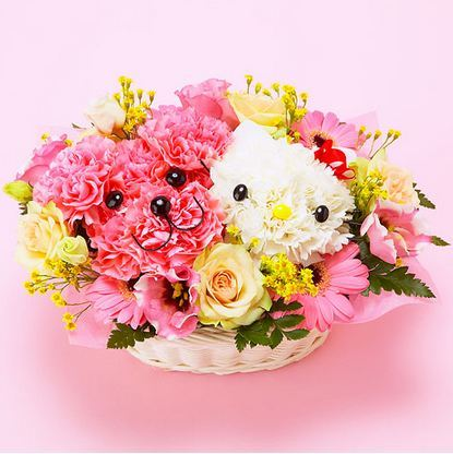 Lindos Arreglos Florales Kawaii Con Hello Kitty Modes Blog