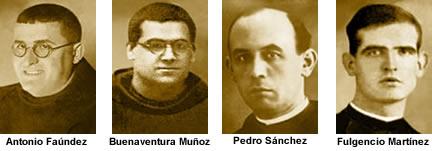 Pedro Sánchez y Buenaventura Muñoz fueron fusilados juntos