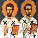 Timoteo y Tito, Santos