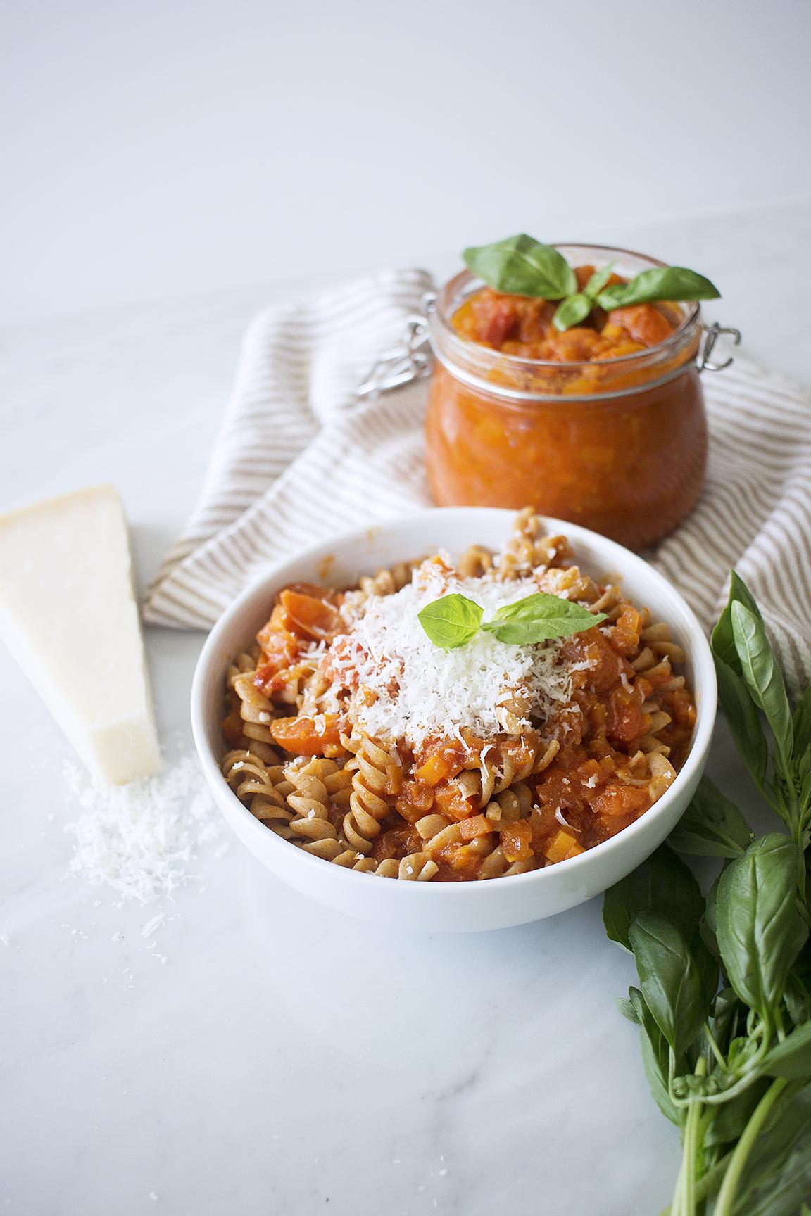 Mi receta básica de salsa de tomate