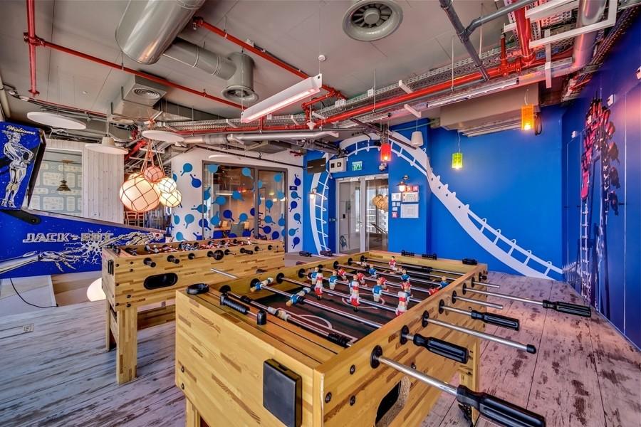 sala de juegos en casa