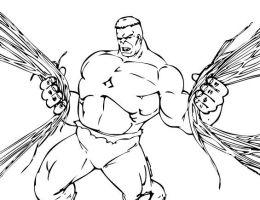 Hulk Animado Para Dibujar On Log Wall