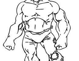 Imagenes De Hulk Para Dibujar A Color On Log Wall