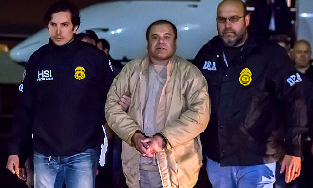 Notorious Drug Kingpin 'El Chapo' Sentenced to Life in Prison