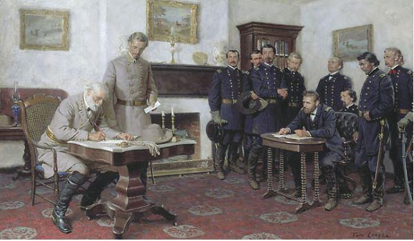 9 Abril 1865 Los confederados se rinden en Appomattox