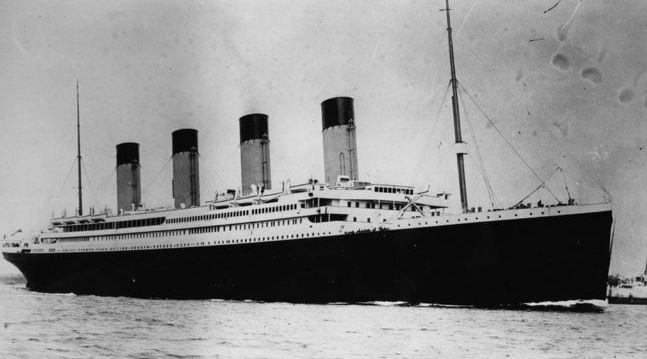14 de abril de 1912 El Titanic choca contra un Iceberg