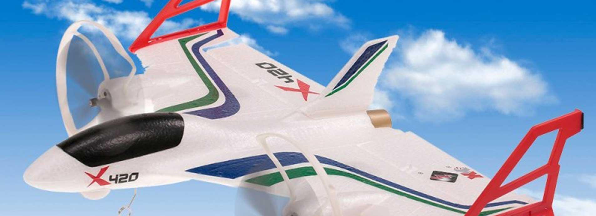 Elige tu primer avión teledirigido paso a paso