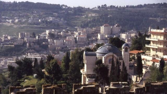 Iglesia de San Pedro en Gallicantu. Foto cortesía del Ministerio de Turismo de Israel.