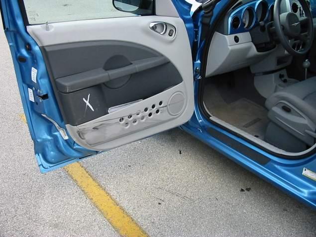 Daños en el auto alquilado.