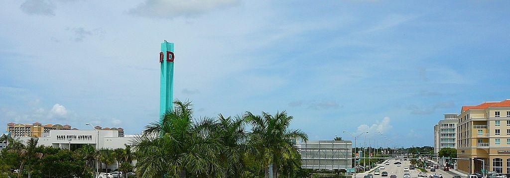 Dadeland Mall en Kendall, condado de Miami-Dade, Florida