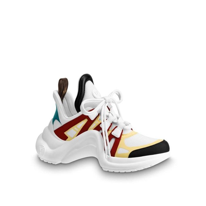 Vista 1 - Zapatilla deportiva LV Archlight  Mujer Zapatos Zapatos | LOUIS VUITTON