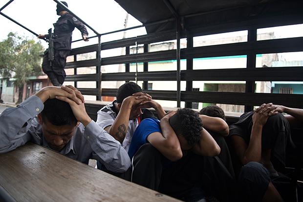 El Salvador delincuentes
