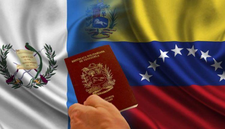 Guatemala Venezuela Pasaporte