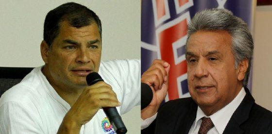 Ecuatorianos decidieron respaldar al presidente Moreno y dejar de lado a Rafael Correa
