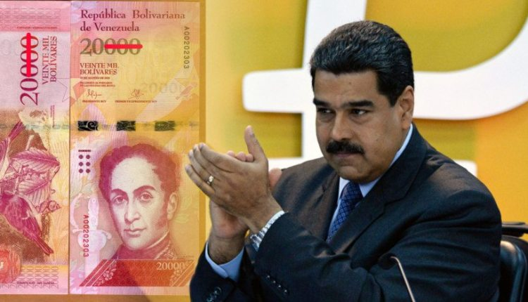 Maduro bolívares