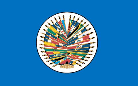 OEA – OAS – flag – bandera