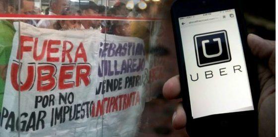 Como los taxistas de Paraguay atentan contra la libertad de elegir servicio de transporte