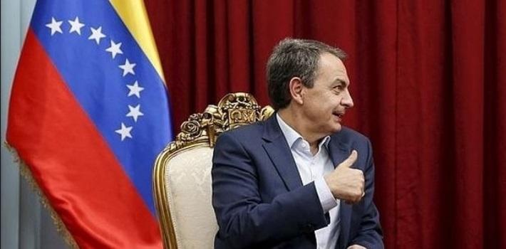 Zapatero – diálgo Venezuela