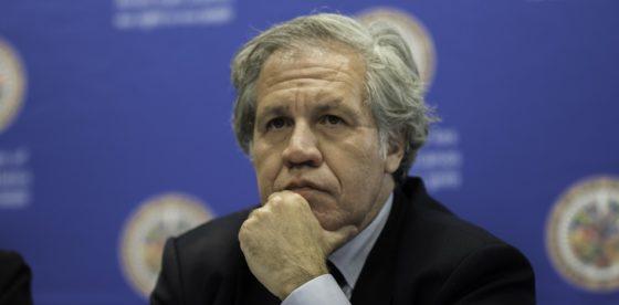 """Almagro pide sanciones """"más duras"""" a dictadura en Venezuela para forzar elecciones serias"""