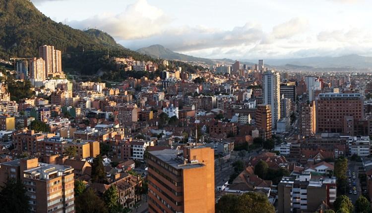 Panaromic view of Bogota
