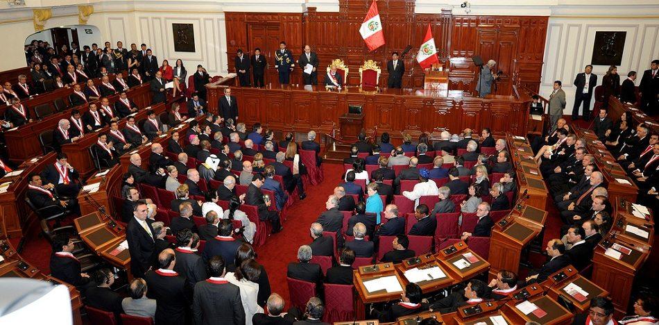 Congresistas peruanos mundial