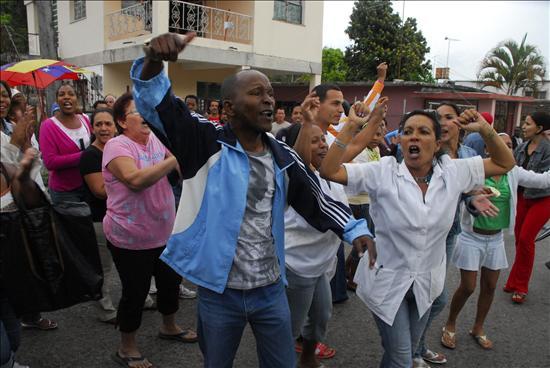 damas de blanco protestan Cuba