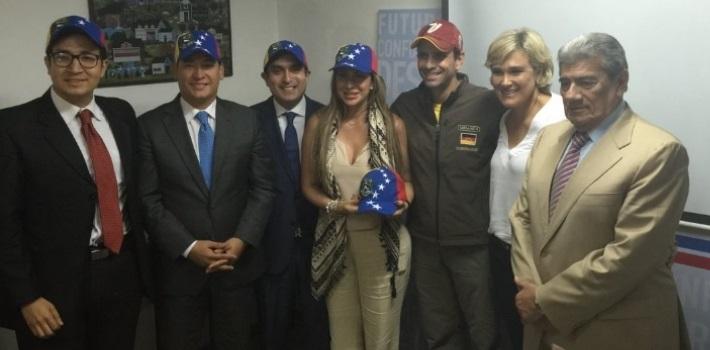 diputados ecuatorianos - Venezuela