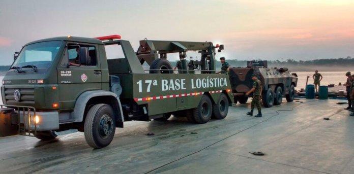 ejercicios militares- amazonia - brasil