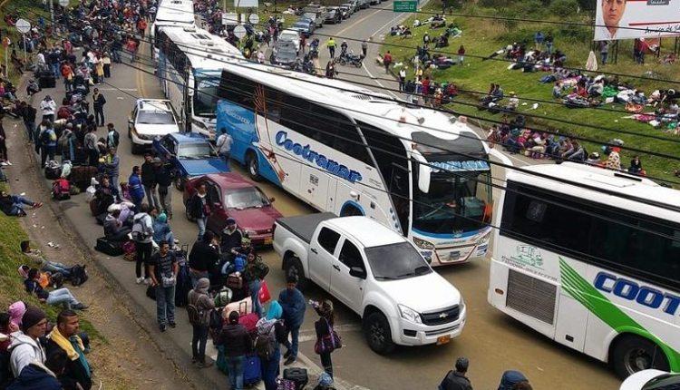exodo venezolano – sanciones