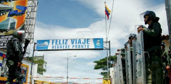 frontera – Venezuela y Colombia