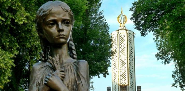 Monumento a las víctimas del Holomodor en Kiev, Ucrania (Dunyayigezmek.com)