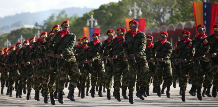 Resultado de imagen para militares chavistas