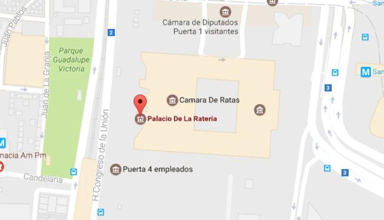 google-maps-camara-diputados