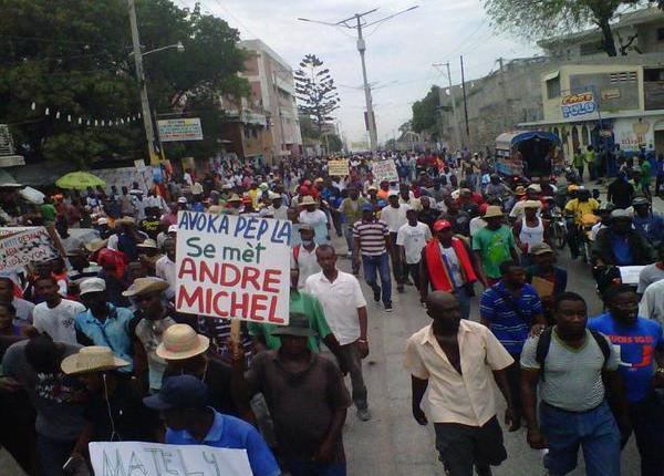 haiti protestas