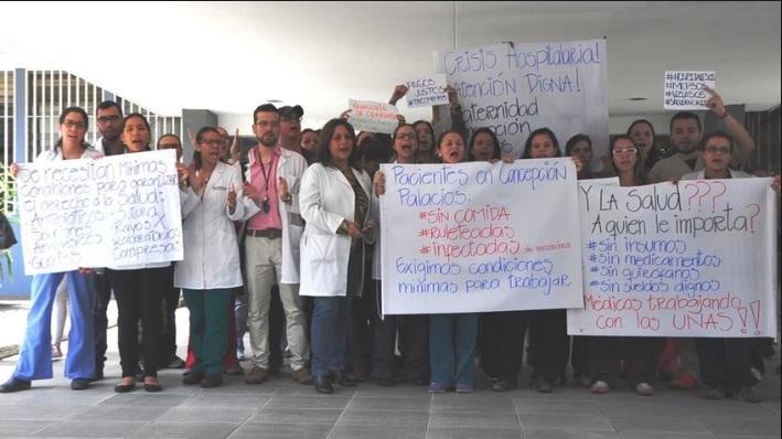 médicos maternidad concepción palacios