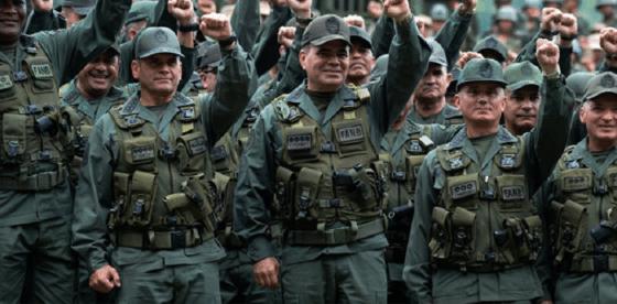 Cobarde, ridícula y sumisa: la Fuerza Armada de Venezuela es una vergüenza