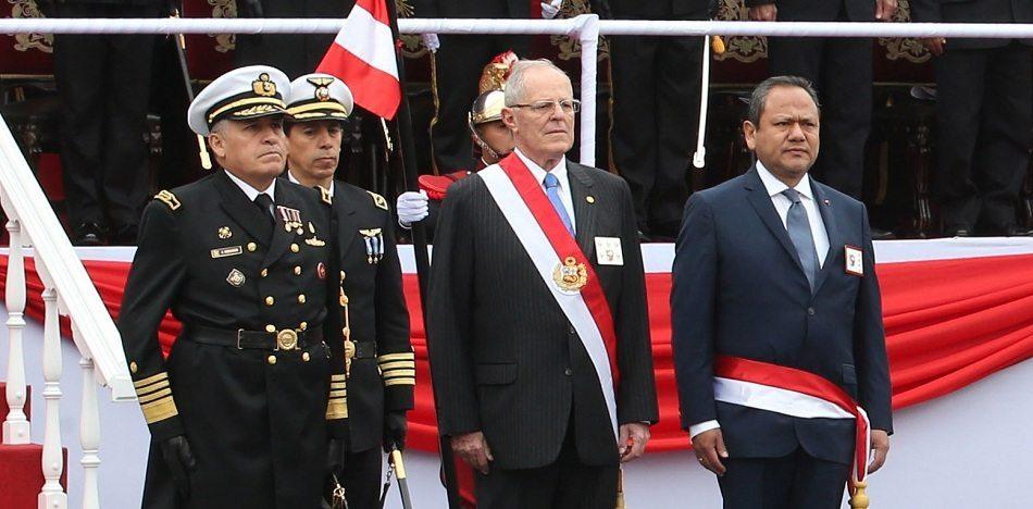 """""""Él está invitado, él puede venir, pero ya veremos pues cómo lo reciben los venezolanos que están en el Perú en decenas de miles"""" (Wikimedia)"""