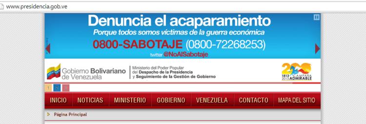 presidenciavenezuela