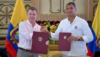 Rafael Correa asegura que presidente Santos no sabe quiénes participaron en negocios con Odebrecht